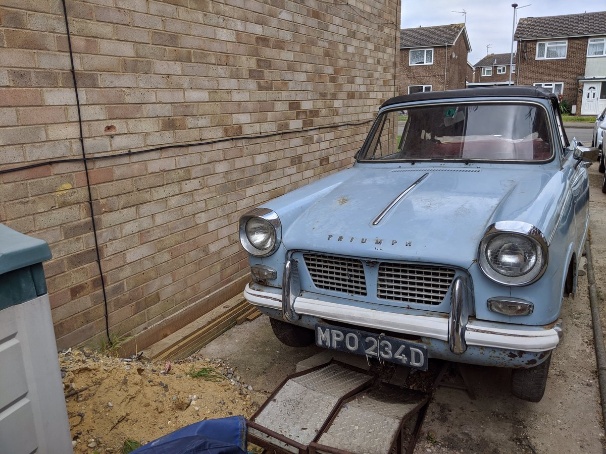 1966 Triumph herald convertible 1200  For Sale (picture 1 of 6)