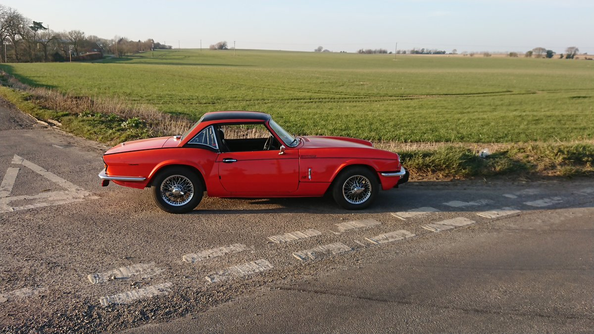 1981 Triumph spitfire 1500 For Sale (picture 1 of 5)