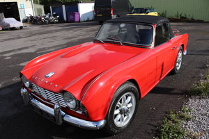1963 Triumph TR4, UK Car, Fully rebuilt For Sale
