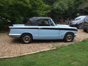 VITESSE CONVERTIBLE MK2 2L OVERDRIVE LOVELY CAR