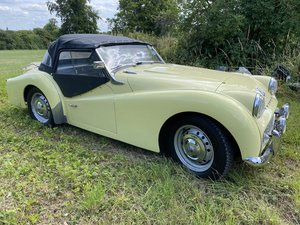 1959 Triumph TR3A with overdrive. 45k mls. For Sale
