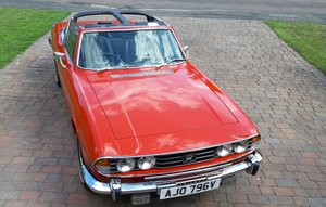 1977 NOW SOLD - Triumph Stag Mk.11 3.0 litre manual