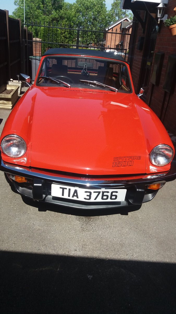 1978 TRIUMPH SPITFIRE For Sale (picture 1 of 6)