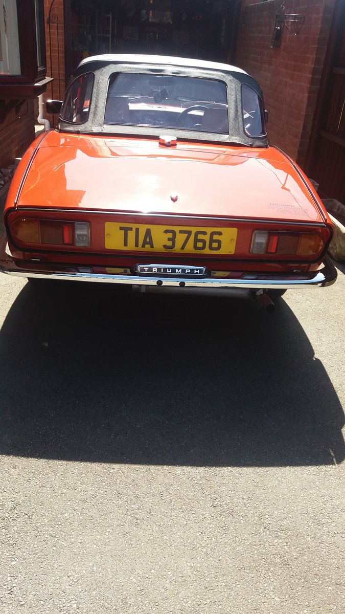 1978 TRIUMPH SPITFIRE For Sale (picture 2 of 6)