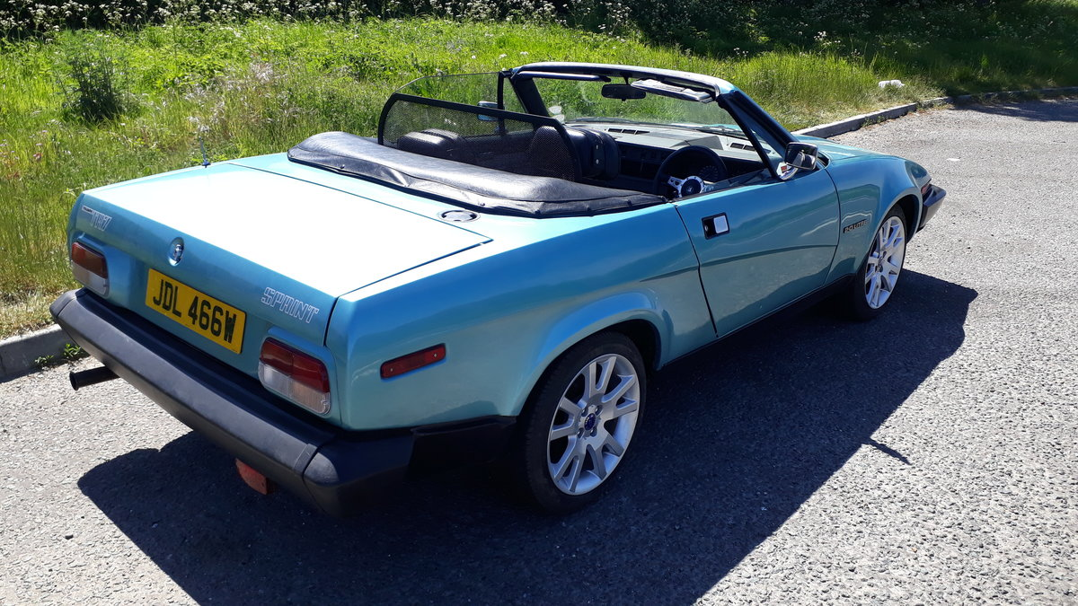 1980 Triumph TR7 (Sprint) Convertible For Sale (picture 2 of 6)