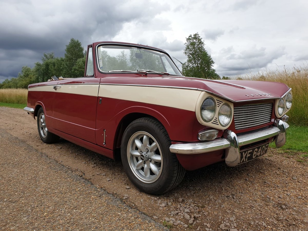 1968 Vitesse Deposit taken we have another in progress  SOLD (picture 1 of 6)