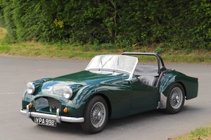Picture of Triumph TR2, 1955.  Superb example in British Racing Green SOLD