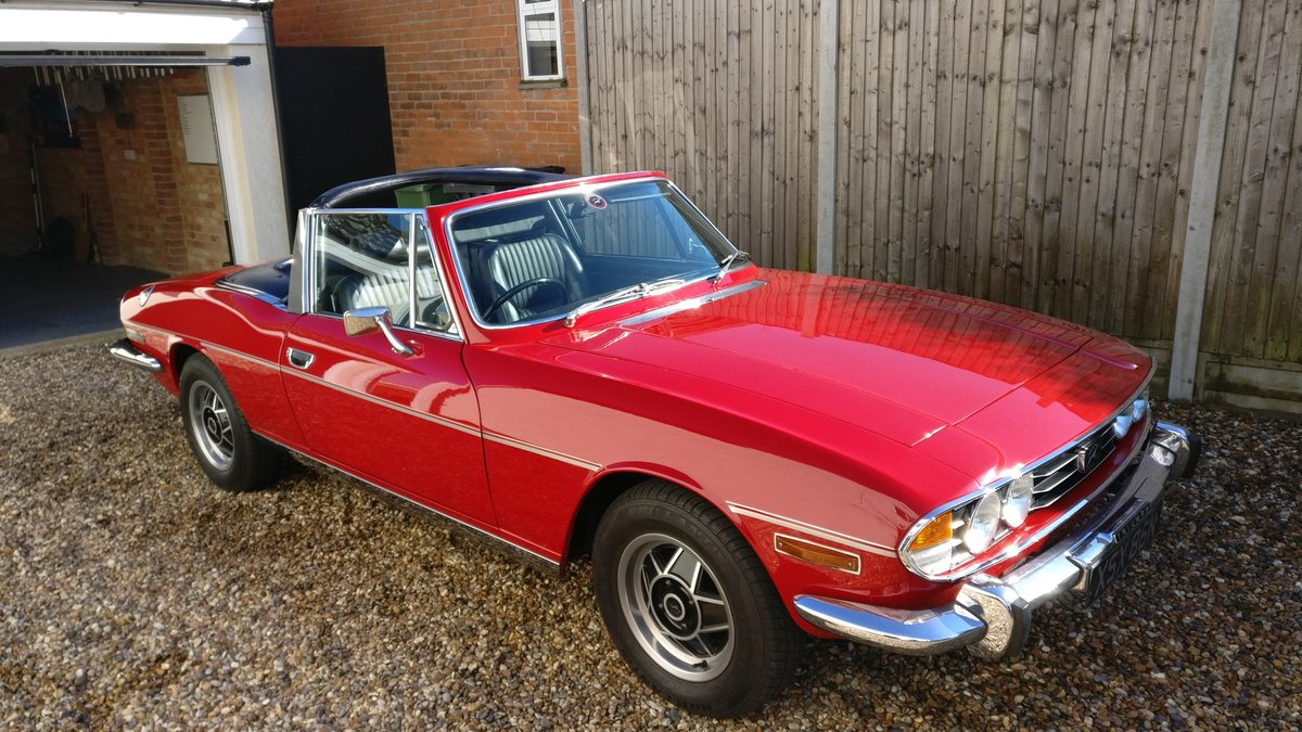 1974 Triumph Stag Manual with O/D SOLD (picture 1 of 6)