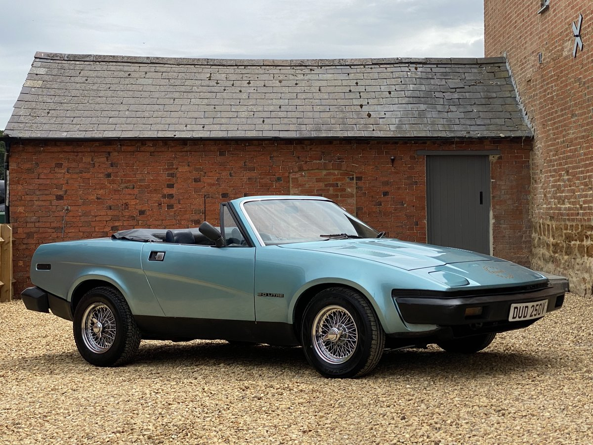 1980 Triumph TR7 2.0 Convertible. 5 Speed SOLD (picture 1 of 6)