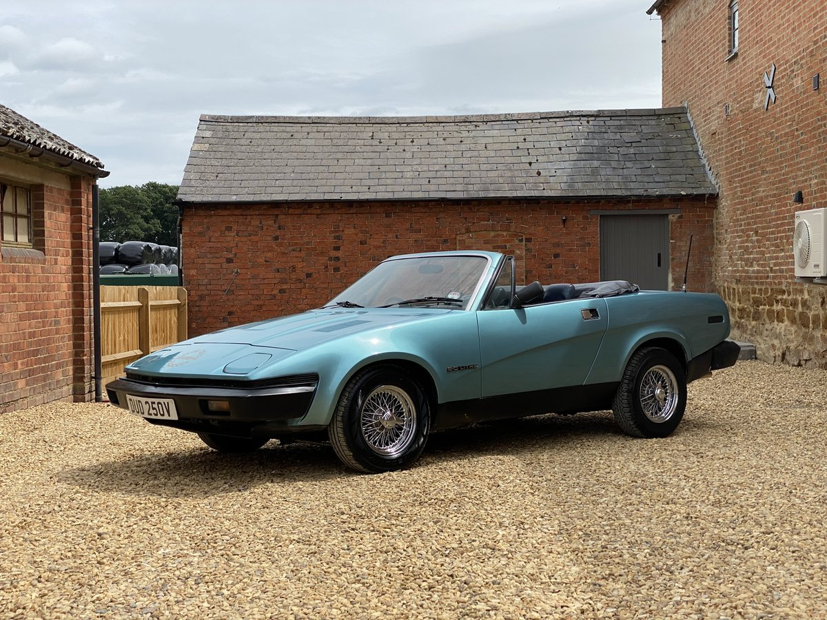 1980 Triumph TR7 2.0 Convertible. 5 Speed SOLD (picture 2 of 6)