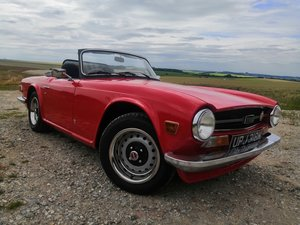 Triumph TR6 UK CR Series