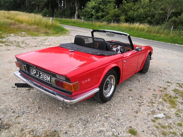 1973 Triumph TR6 UK CR Series For Sale (picture 2 of 6)