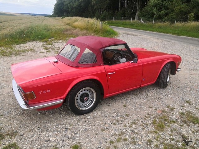 1973 Triumph TR6 UK CR Series For Sale (picture 3 of 6)
