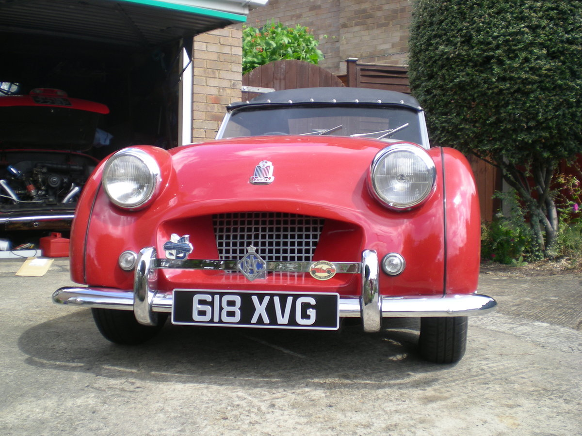 1954 Triumph TR2 small mouth with overdrive For Sale (picture 4 of 6)