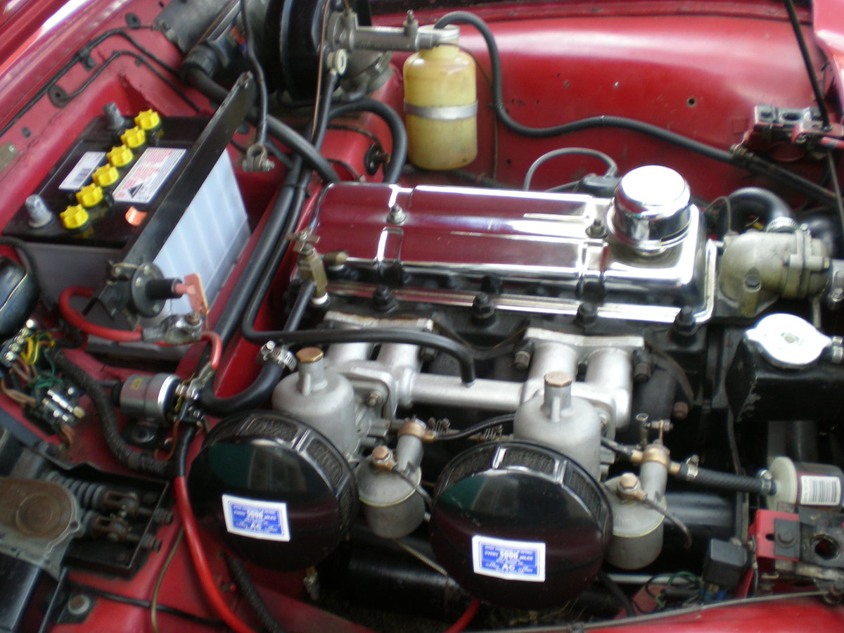 1954 Triumph TR2 small mouth with overdrive For Sale (picture 5 of 6)