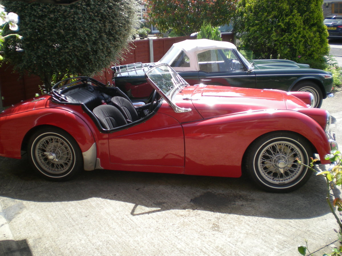 1954 Triumph TR2 small mouth with overdrive For Sale (picture 6 of 6)