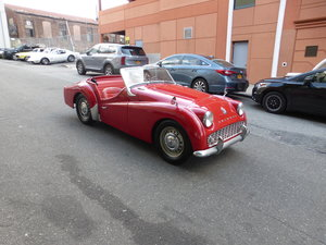 1959 Triumph TR3 Old Frame Off Restored Very Nice Driver -
