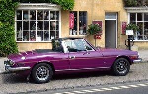 1972 Triumph Stag Auto in Magenta For Sale