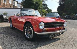 TRIUMPH TR6. UK CAR.