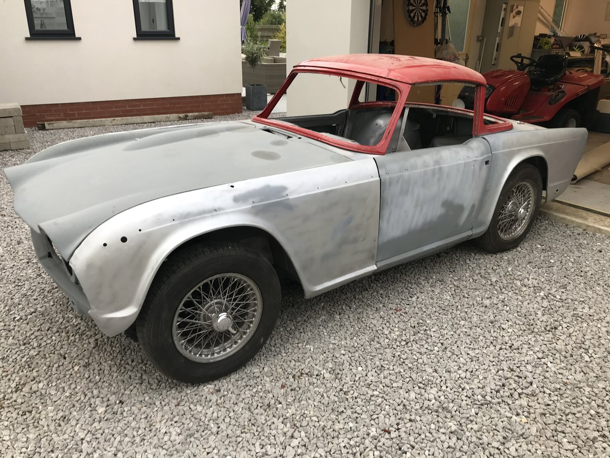 1967 Triumph TR4a Project UK car SOLD (picture 1 of 6)