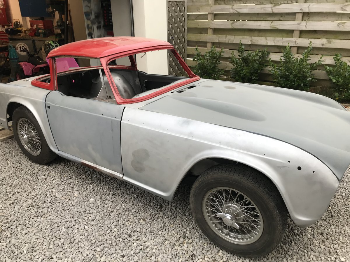 1967 Triumph TR4a Project UK car SOLD (picture 2 of 6)