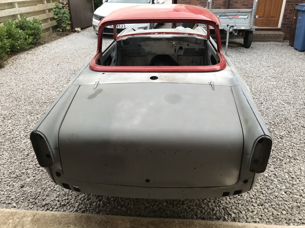 1967 Triumph TR4a Project UK car SOLD (picture 3 of 6)