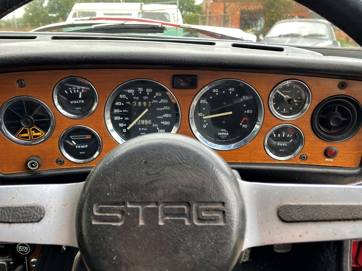 1973 1974 Triumph Stag - Good Condition For Sale (picture 6 of 6)