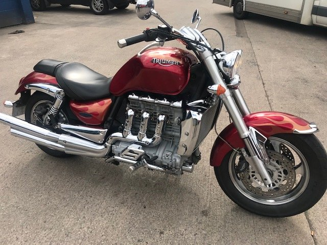 2004 Triumph Rocket III 2300cc For Sale (picture 1 of 6)
