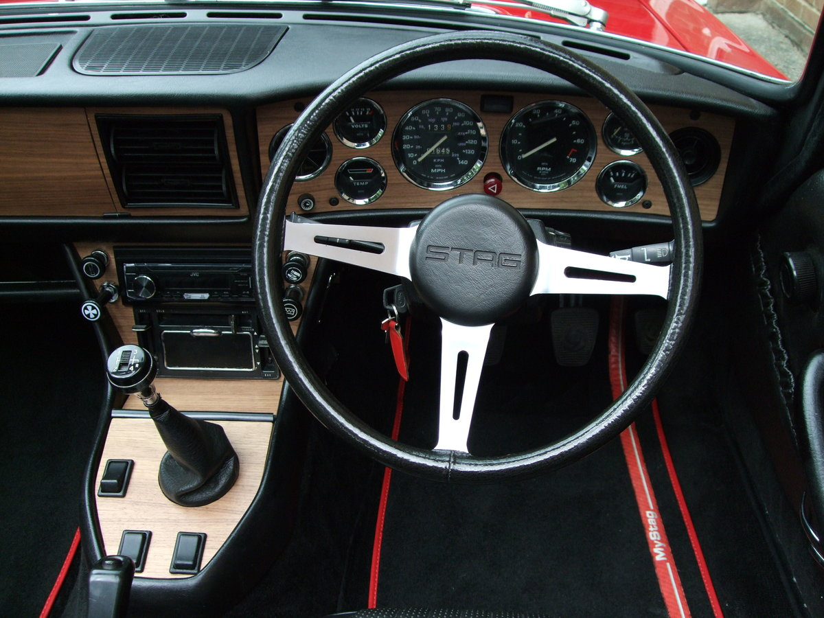 1974 Triumph Stag Manual with O/D SOLD (picture 5 of 6)