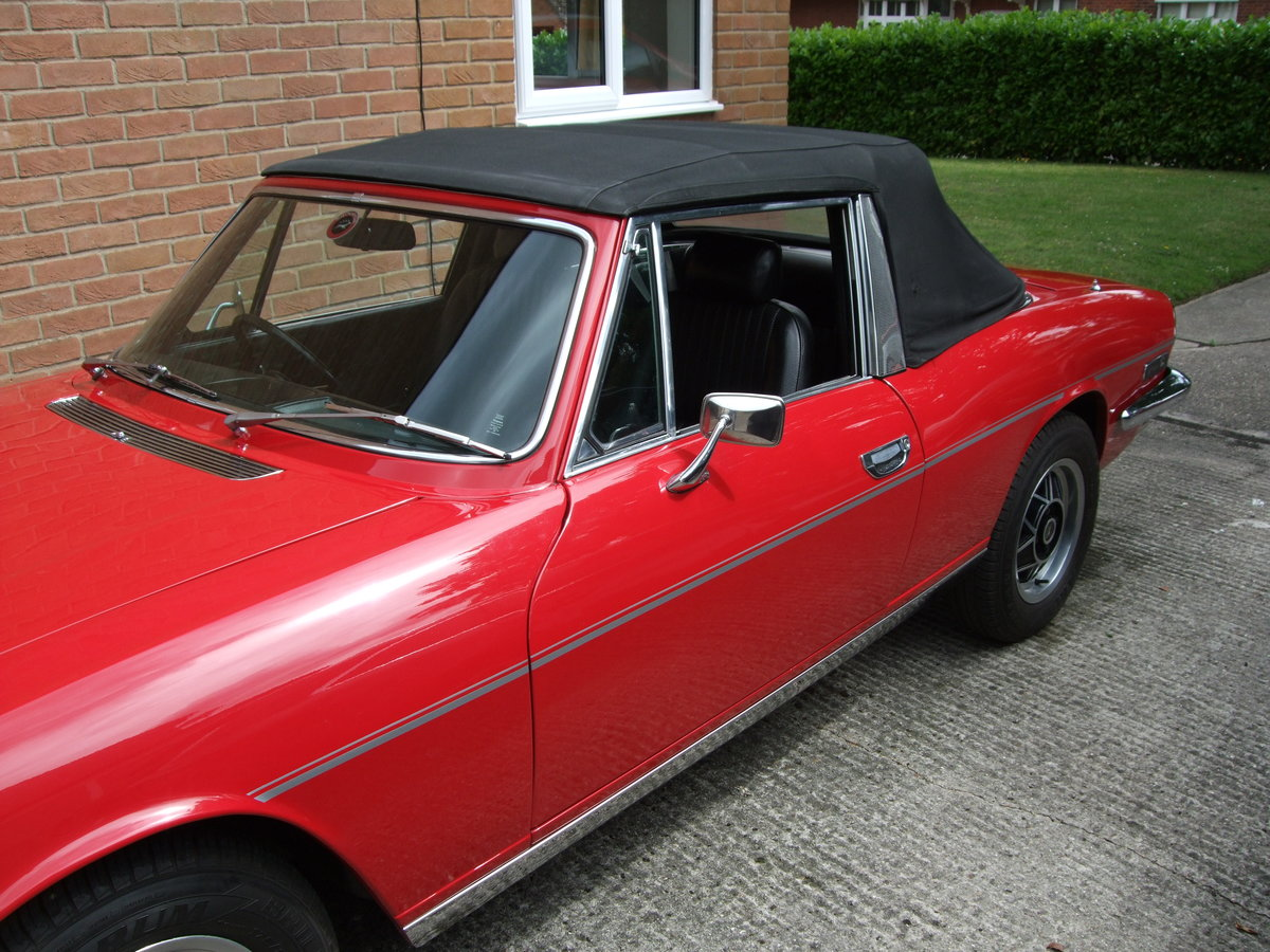 1974 Triumph Stag Manual with O/D SOLD (picture 6 of 6)