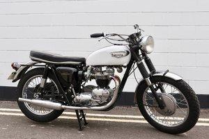 1966 Triumph T120R Bonneville 650cc - Matching
