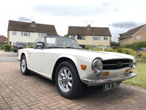 1970 Triumph TR6 UK Supplied CP Chassis code For Sale