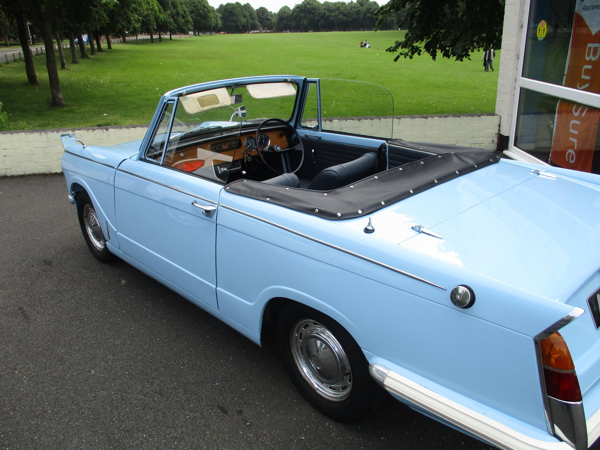 1970 Triumph Herald Beautiful Factory Convertible SOLD (picture 1 of 6)