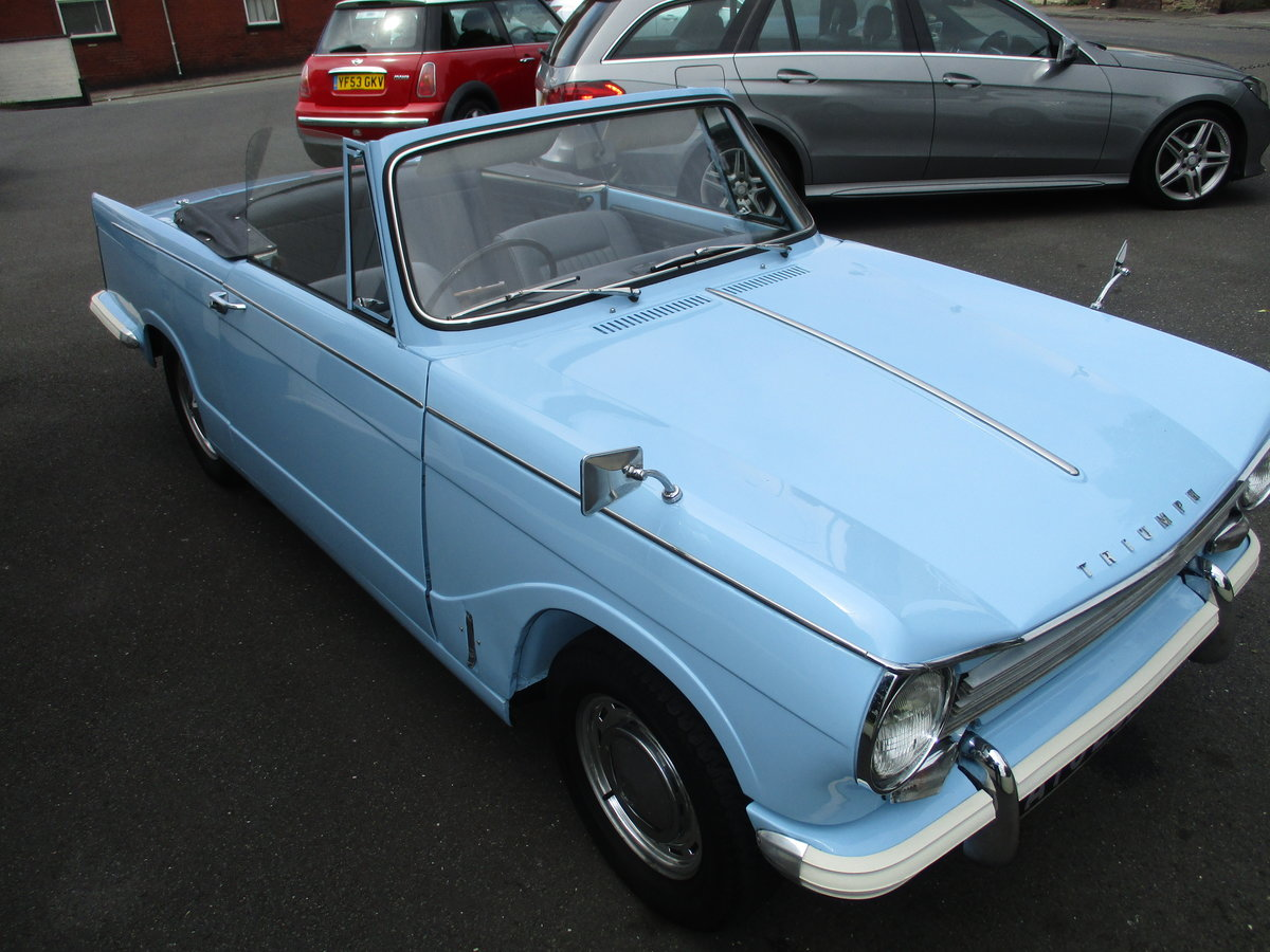 1970 Triumph Herald Beautiful Factory Convertible SOLD (picture 4 of 6)