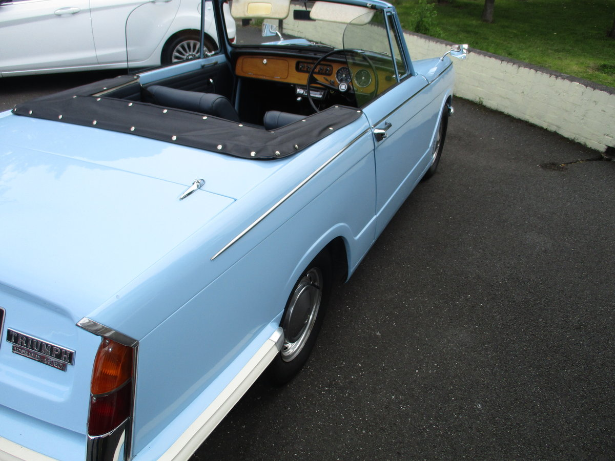 1970 Triumph Herald Beautiful Factory Convertible SOLD (picture 5 of 6)