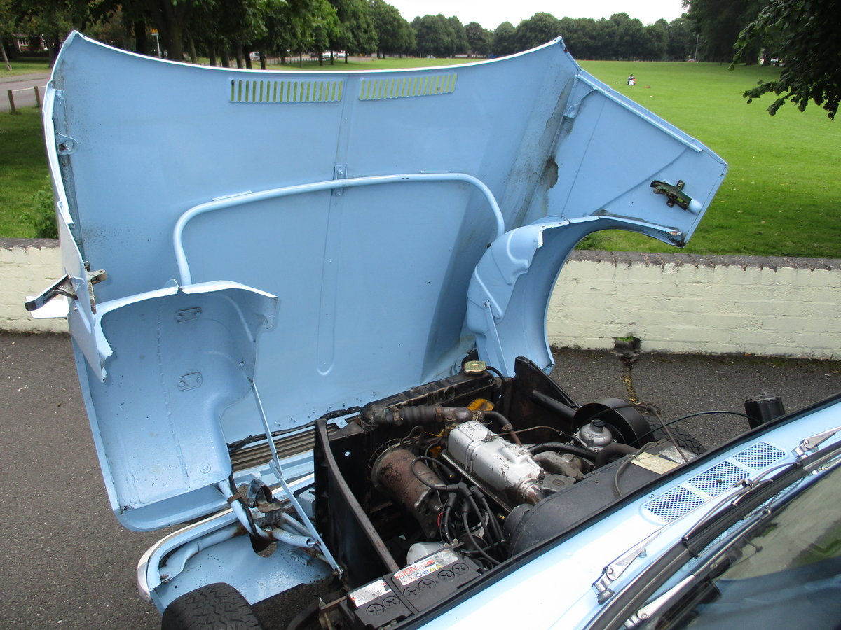 1970 Triumph Herald Beautiful Factory Convertible SOLD (picture 6 of 6)