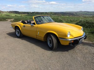 1979 Triumph Spitfire 1500 Renovation Project