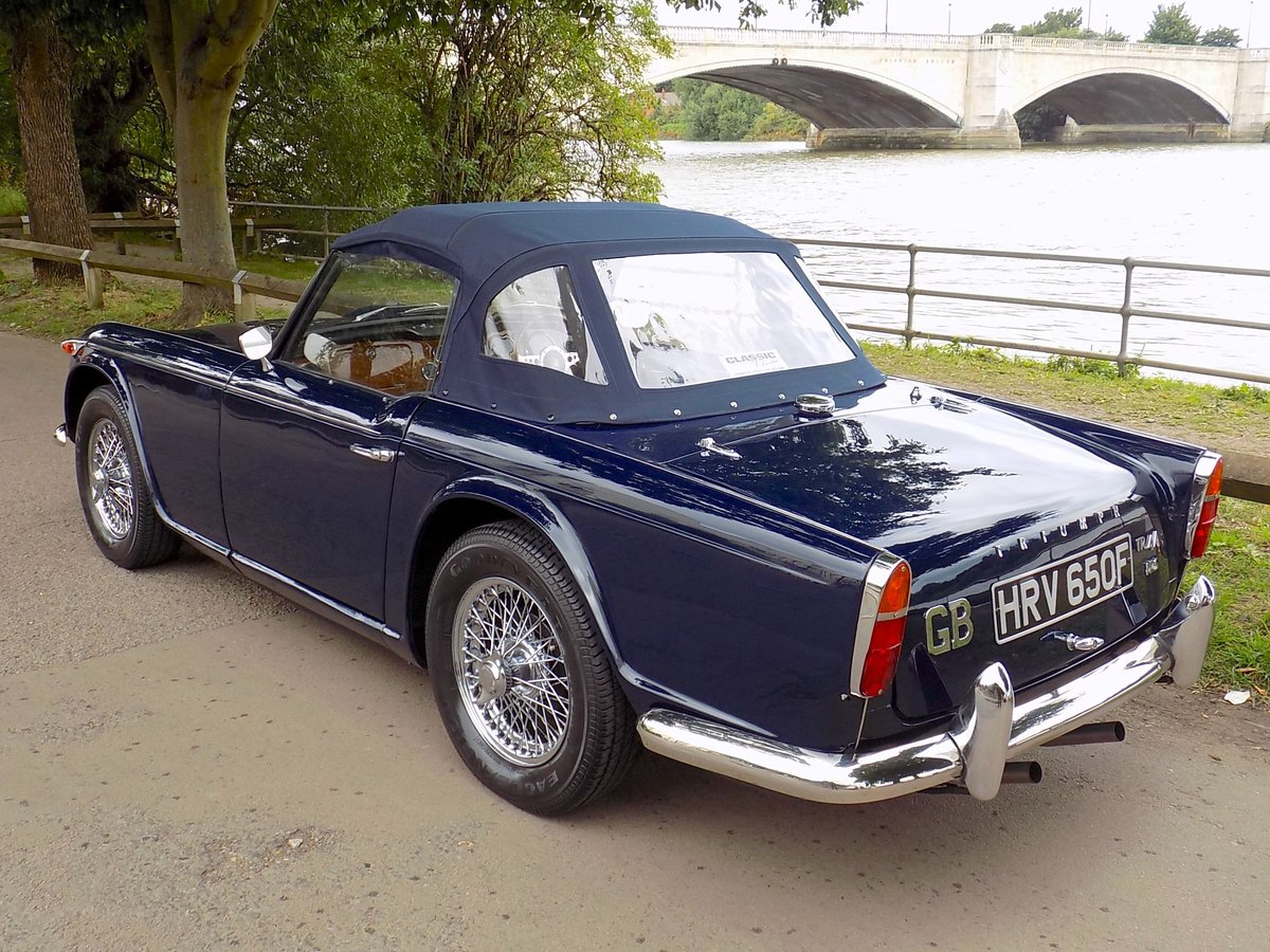 1967 TRIUMPH TR4A IRS  SOLD (picture 5 of 6)