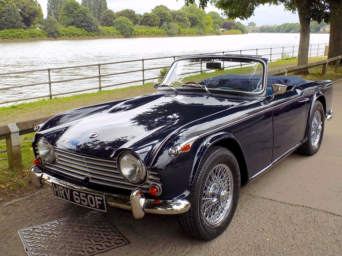 1967 TRIUMPH TR4A IRS  SOLD (picture 6 of 6)