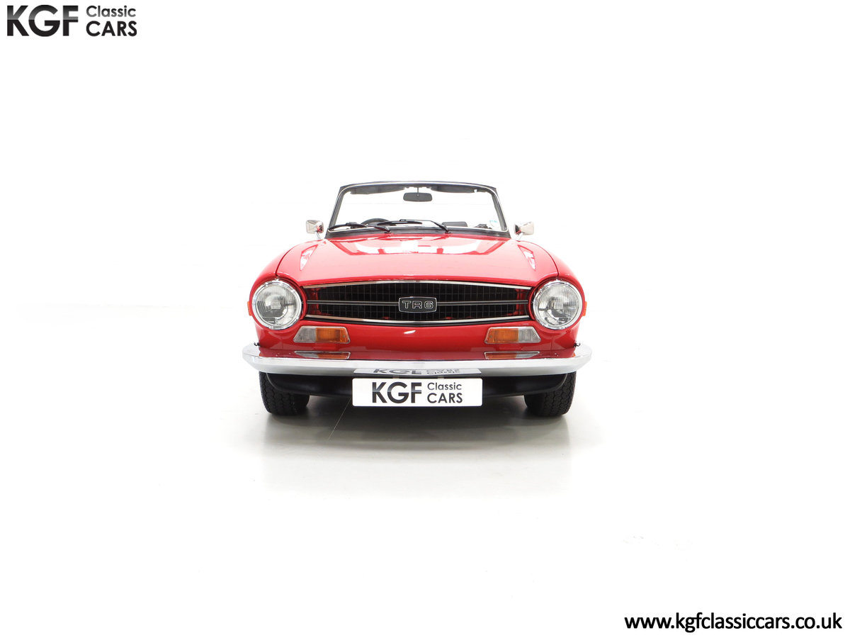 1973 A Matching Numbers UK Triumph TR6 PI with 57,234 Miles SOLD (picture 3 of 24)