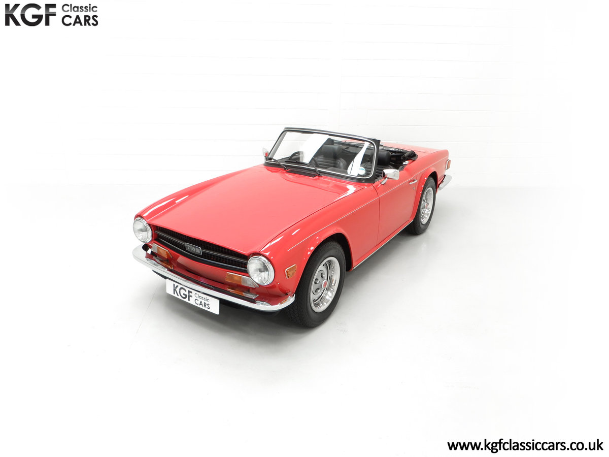1973 A Matching Numbers UK Triumph TR6 PI with 57,234 Miles SOLD (picture 5 of 24)