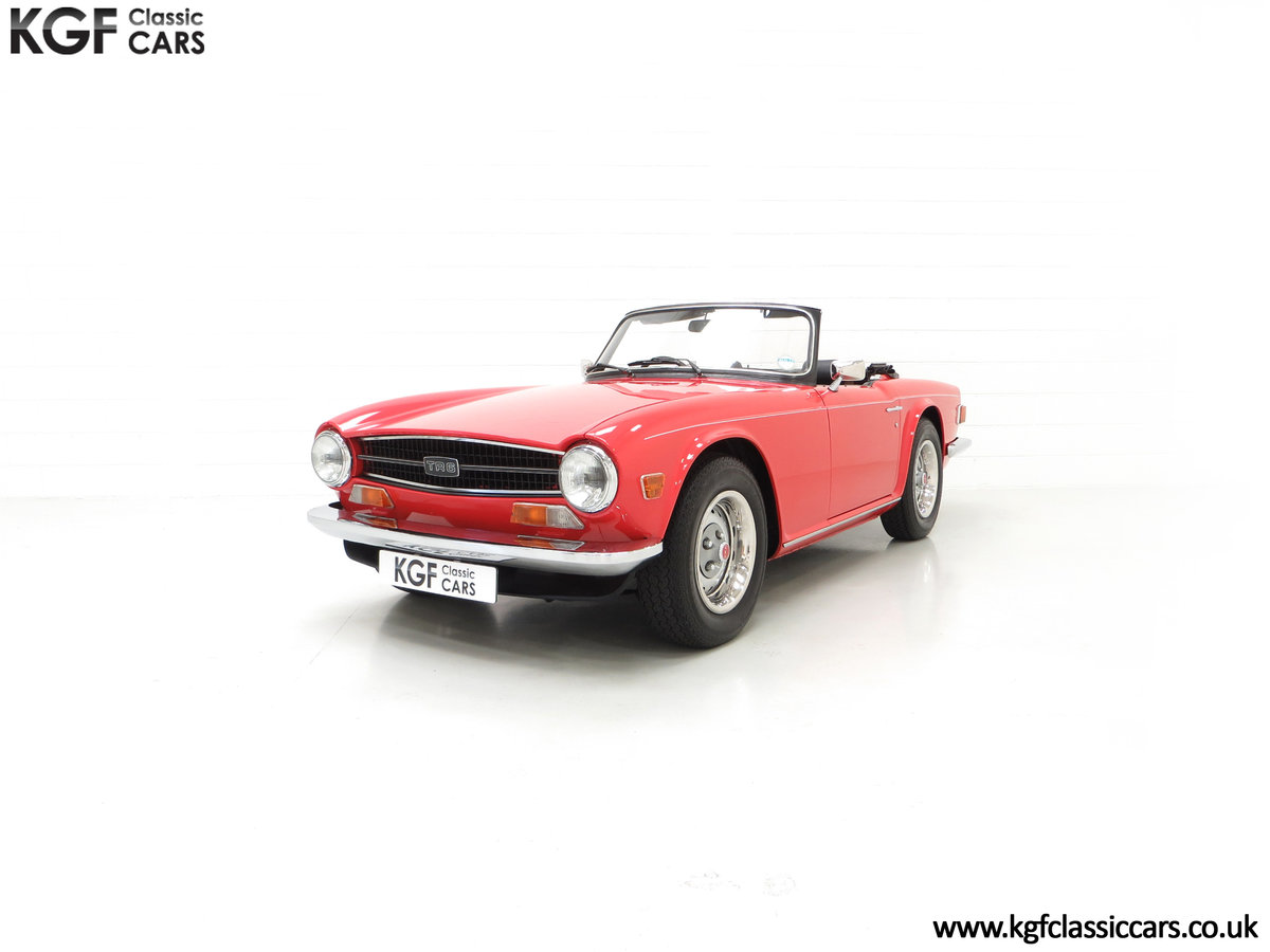 1973 A Matching Numbers UK Triumph TR6 PI with 57,234 Miles SOLD (picture 6 of 24)