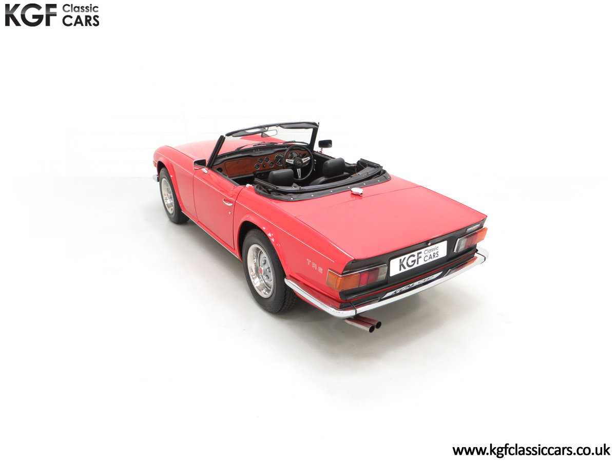 1973 A Matching Numbers UK Triumph TR6 PI with 57,234 Miles SOLD (picture 9 of 24)