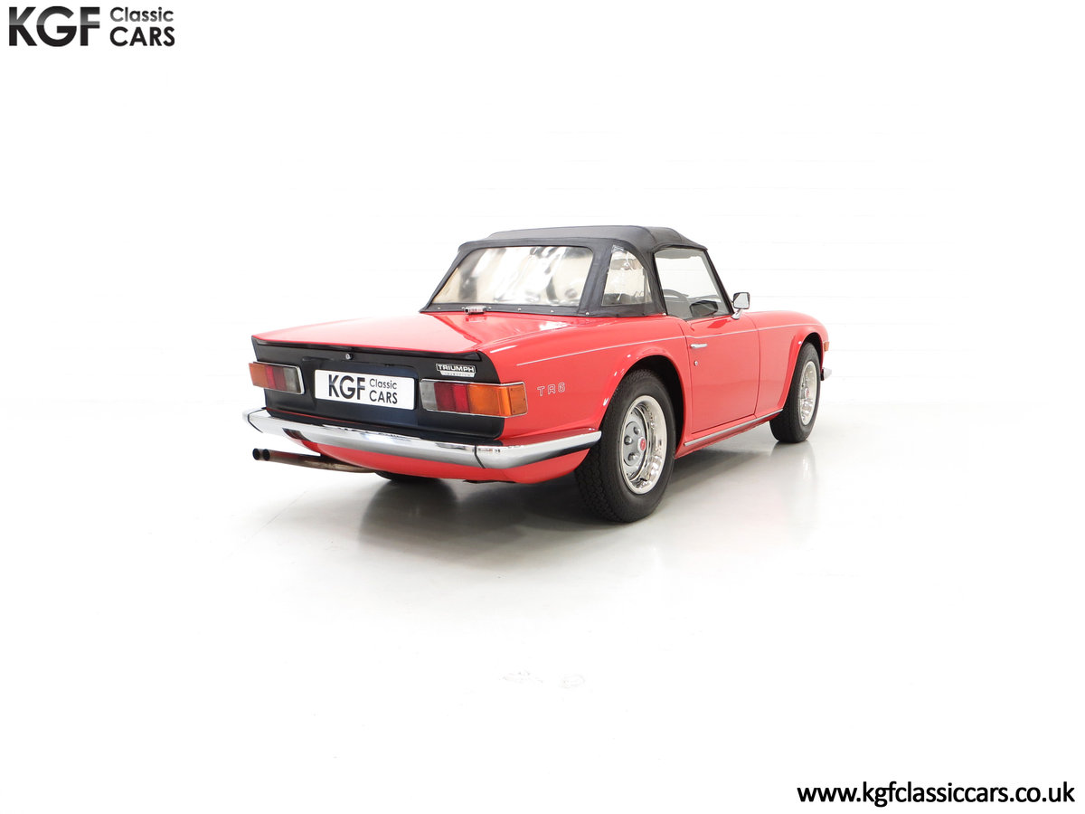 1973 A Matching Numbers UK Triumph TR6 PI with 57,234 Miles SOLD (picture 13 of 24)