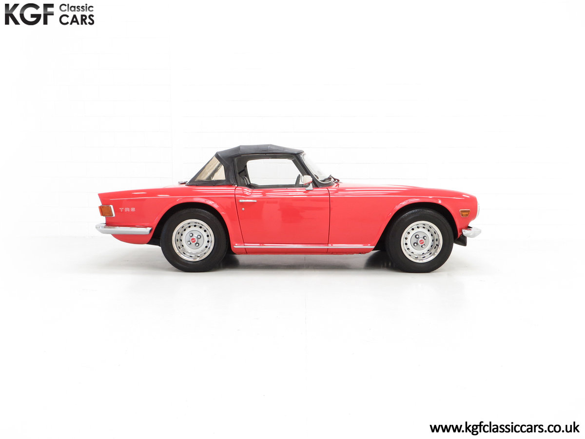 1973 A Matching Numbers UK Triumph TR6 PI with 57,234 Miles SOLD (picture 14 of 24)