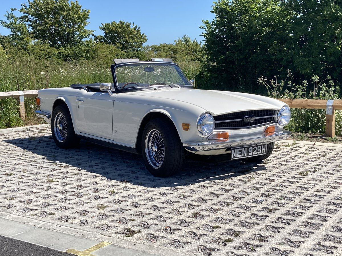 1970 Triumph TR6 CP series with Overdrive SOLD (picture 1 of 6)