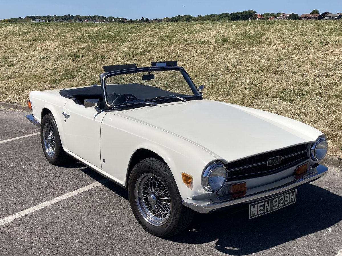 1970 Triumph TR6 CP series with Overdrive SOLD (picture 2 of 6)