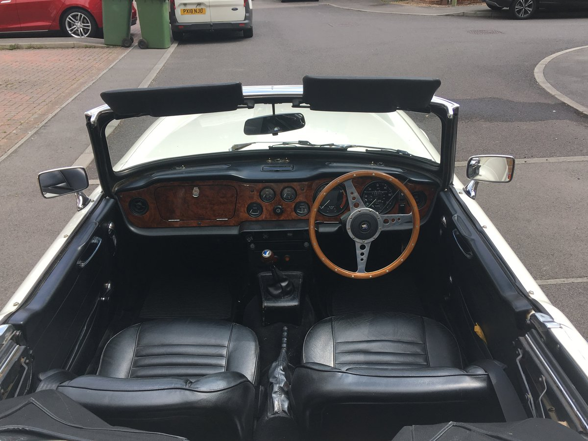1970 Triumph TR6 CP series with Overdrive SOLD (picture 4 of 6)