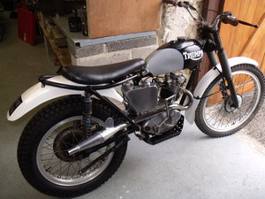 Triumph T20 Tiger Cub pre 65 trials bike road reg