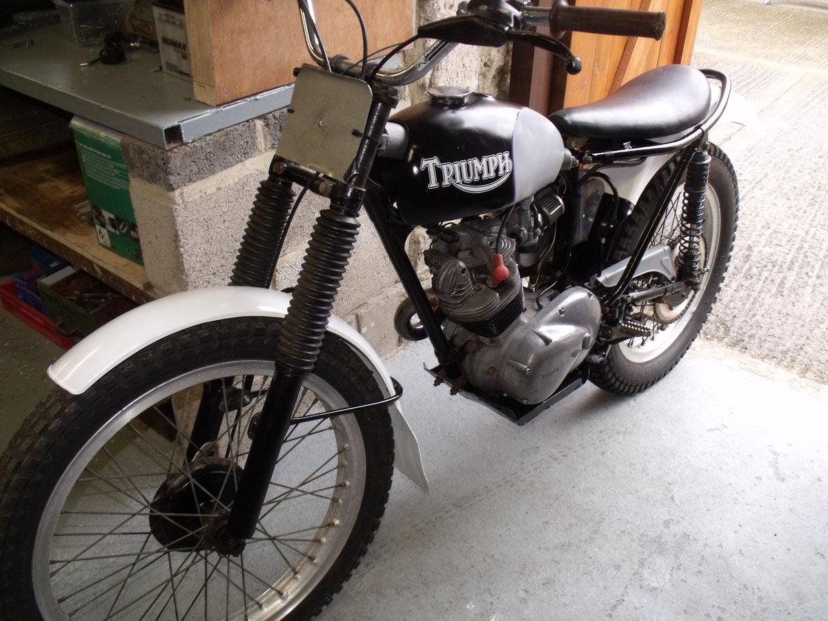 1963 Triumph T20 Tiger Cub pre 65 trials bike road reg For Sale (picture 3 of 6)
